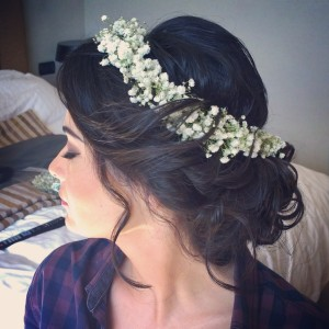 ROME WEDDING HAIR STYLING FOR WEDDINGS IN ITALY