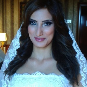 Arabic Lebanese weddings in Rome makeup and hair in Rome Italy