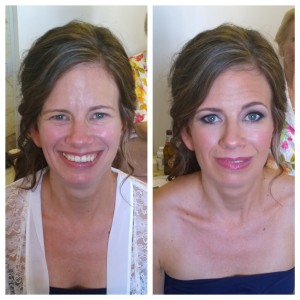 Italy wedding makeup