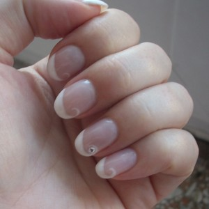 Rome wedding nails in italy