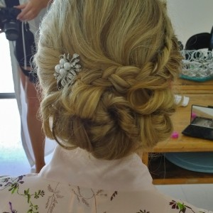 Bridal hair in Rome Umbria and Tuscany