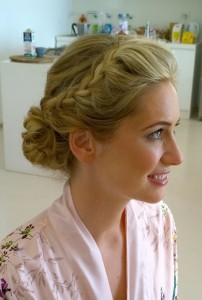wedding hair and makeup in Rome italy