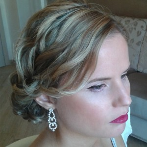 Rome Irish college wedding hairdresser and makeup in Rome Umbria Tuscany