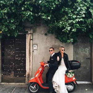 ROME ELOPEMENT PHOTO SHOOT HAIR AND MAKEUP