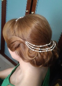 vintage retro hairstylist in Rome italy