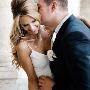 campidoglio wedding hair and makeup in rome italy
