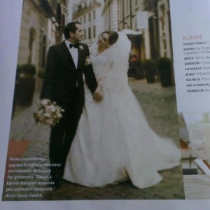 Italy weddings in Martha Steward weddign magazine by Janita Helova