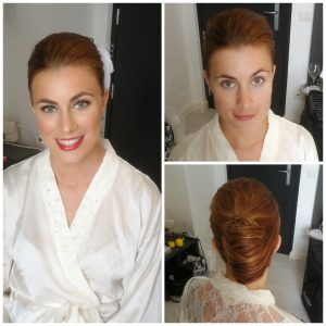 santa marinella wedding hair and makeup