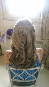 Italy luxury wedding hair and makeup services