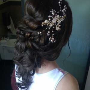 wedding hairstylist for Rome wedding