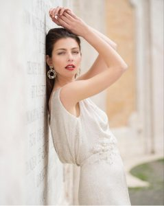 FASHION MODEL HAIR AND MAKEUP IN ROME ITALY TUSCANY AND AMALFI
