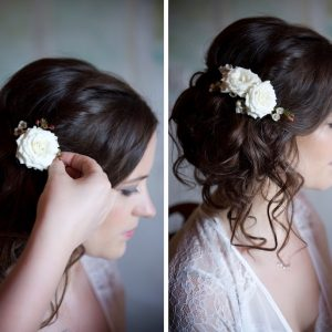 TUSCANY WEDDING HAIR AND MAKEUP