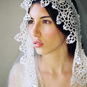 editorial hair and makeup for bridal fashion shoot in Rome italy