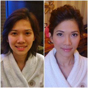 KOREAN ASIAN JAPANESE CHINESE WEDDING HAIR AND MAKEUP ARTIST IN ROME ITALY