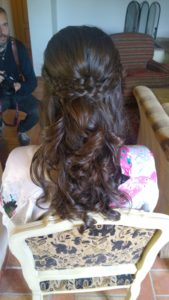 WEDDING HAIR AND MAKEUP IN CASTELLO LEONINA RELAIS HOTEL IN ASCIANO TUSCANY