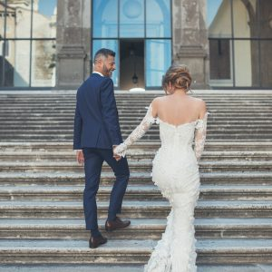 ELOPEMENT HAIR AND MAKEUP IN ROME ITALY