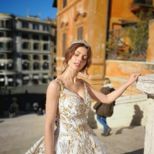 VILLA AURELIA WEDDING HAIR AND MAKEUP ROME ITALY