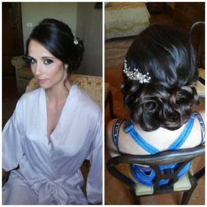 TUSCANY CELEBRITY WEDDING HAIR AND MAKEUP FOR COLATURA SINGER JENNICA BEST